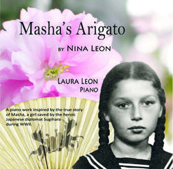 cover of Masha's Arigato: A Tribute to Sugihara and the people of Japan